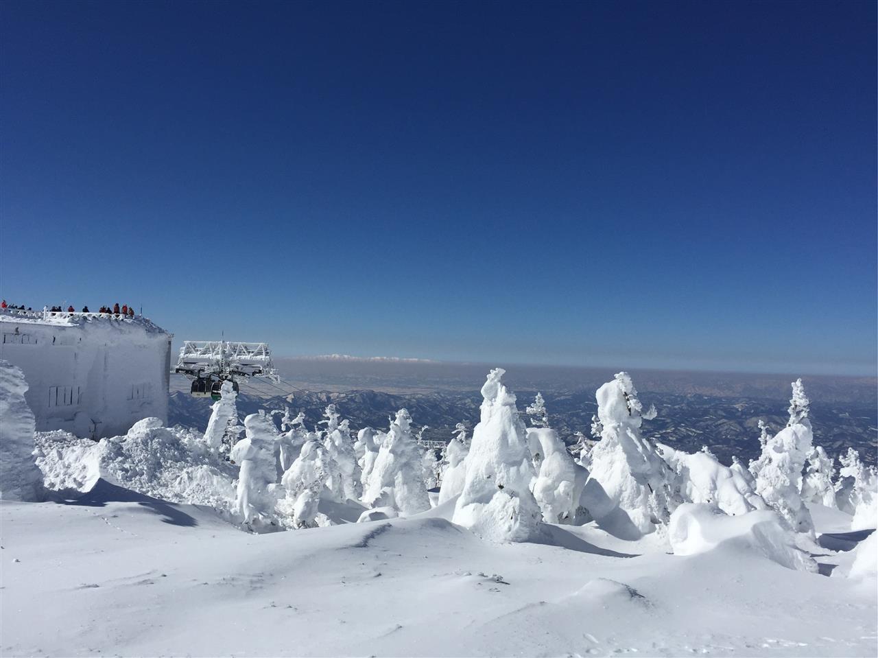 山形 蔵王 スキー 場 天気