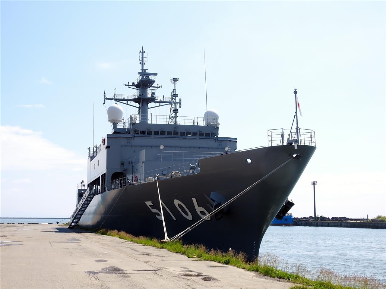 6月16日の塩分補給② 海洋観測艦A...
