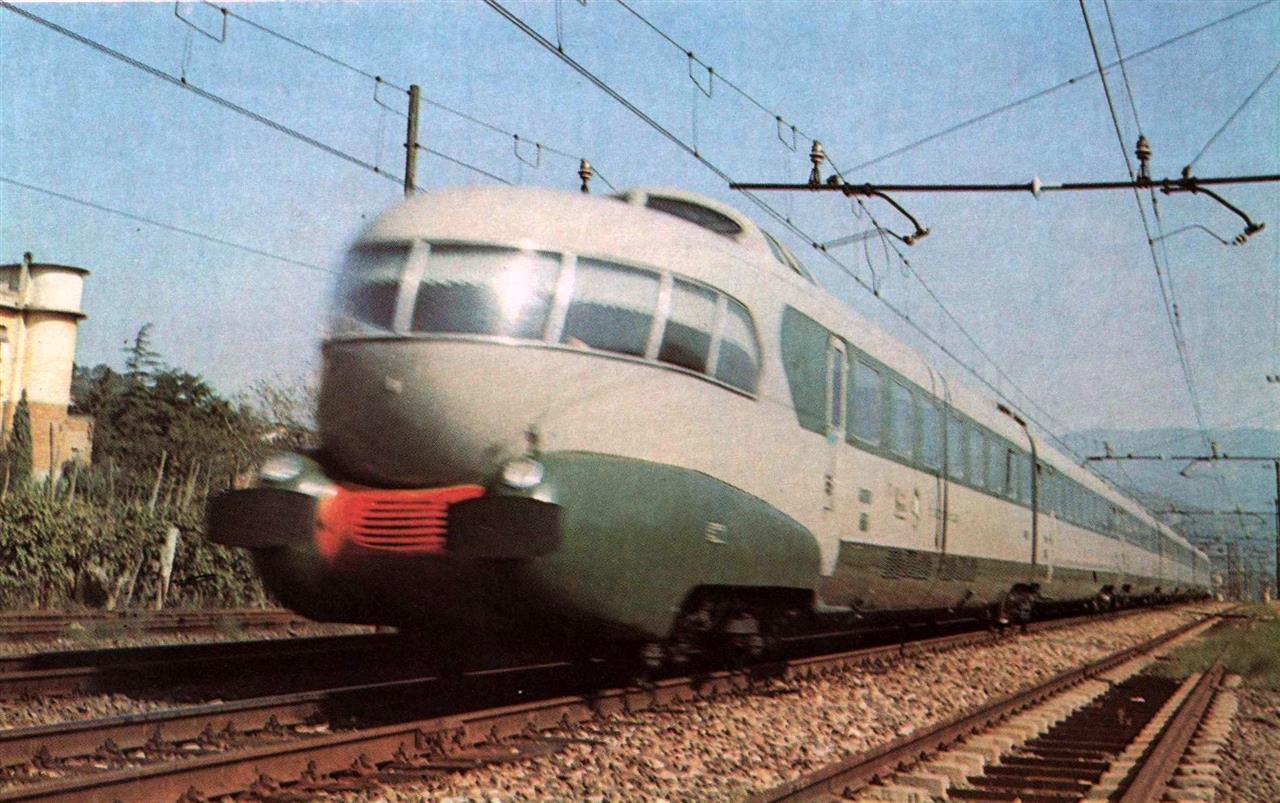 イタリア国鉄ETR300電車