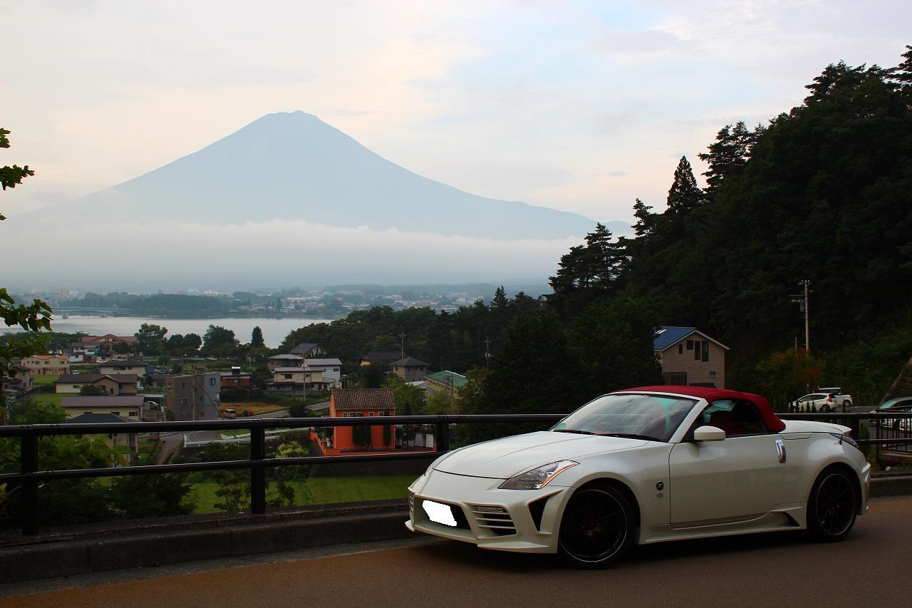 フェアレディZ Z33ロードスター 富士山 ラビスタ富士河口湖