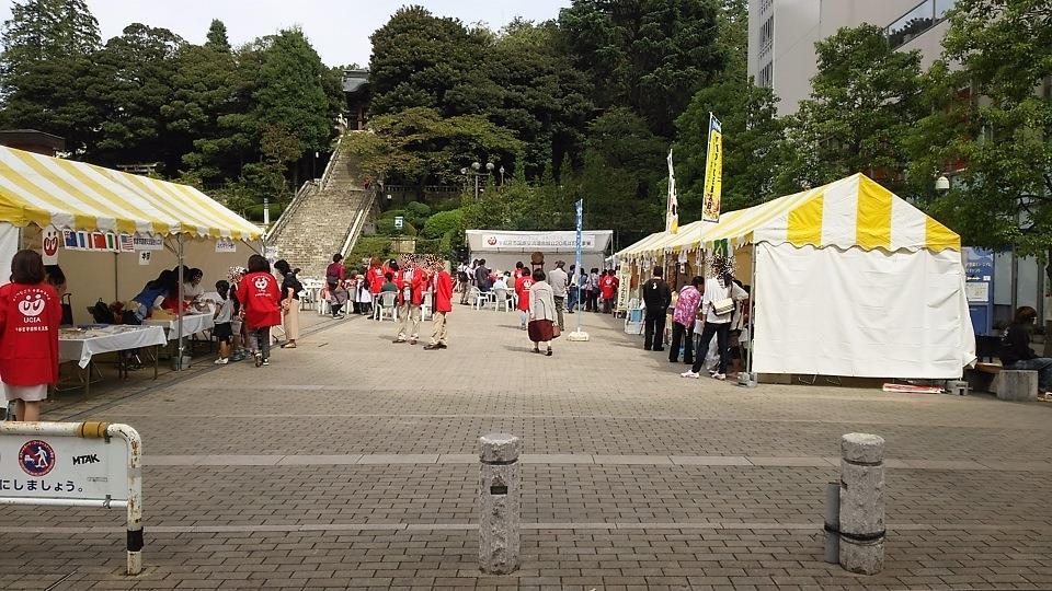 宇都宮市国際交流協会 協会設立20周年記念イベント@バンバひろば