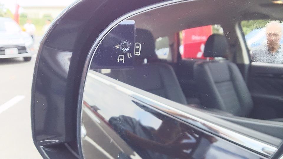 後側方車両検知警報システム