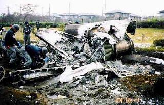 T-33A入間川墜落事故」NSX2780の...