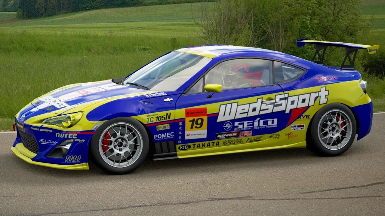 GT SPORT カーリバリー WedsSort86