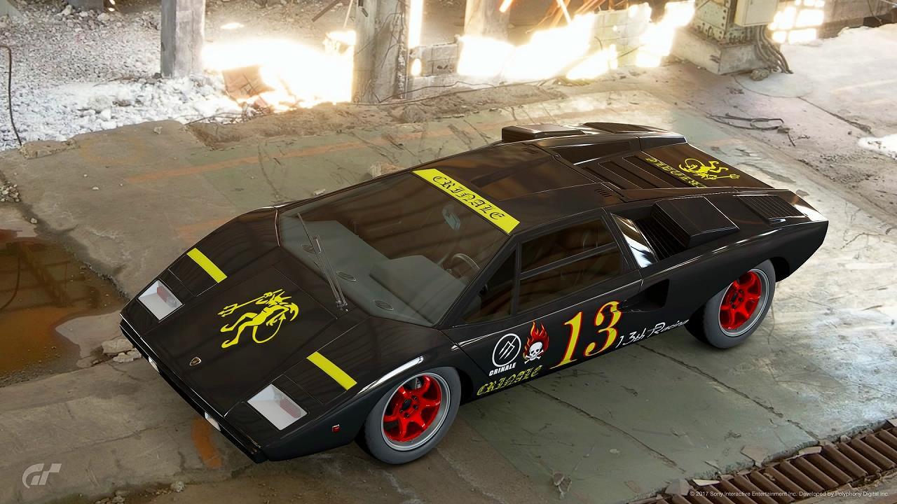 GT SPORT カーリバリー リッジレーサー デビルカー 13th Racing