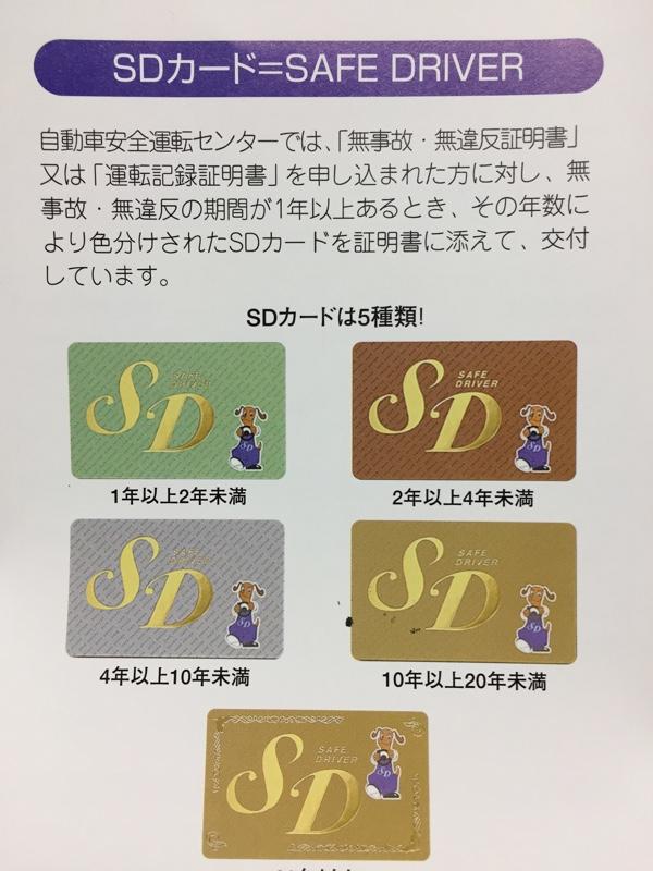 優遇 sd 店 カード