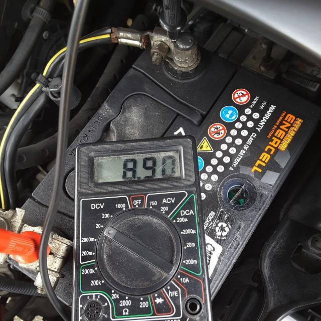 現代製 突然死バッテリー