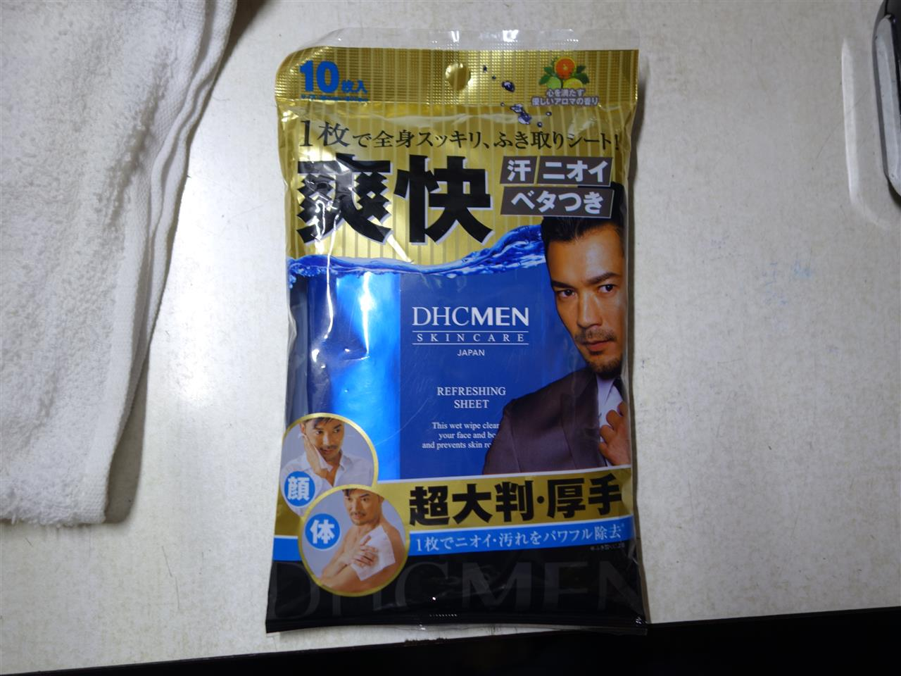 DHC MEN リフレッシングシート