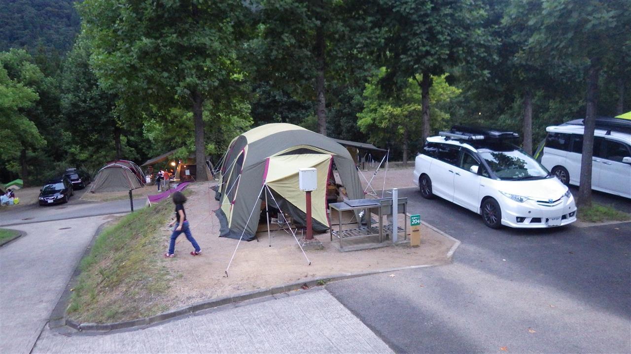 場 湯 キャンプ オート 原 ノ 温泉