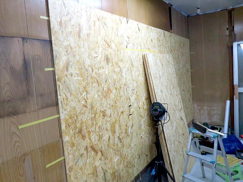 壁板と棚作り ココナッツ ホンダのブログ ココナッツ ホンダ