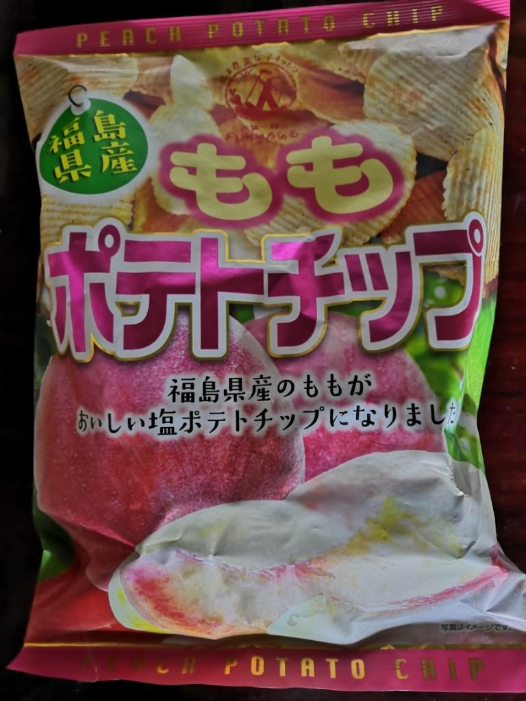 福島 桃 ポテト チップス