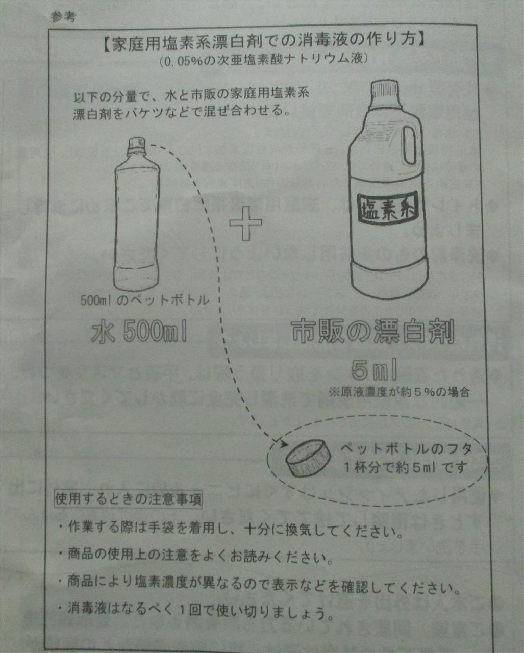 系 剤 消毒 漂白 塩素
