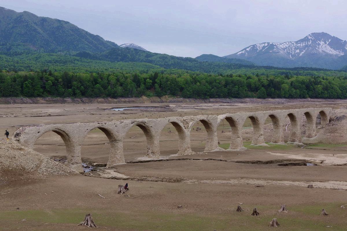 タウシュベツ川橋梁 2019年05月