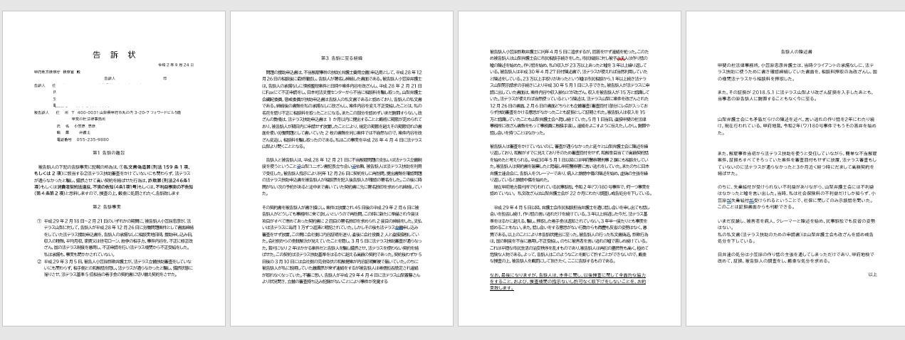 本日刑事告訴状提出」tokusanRacingのブログ | tokusanRacing ...