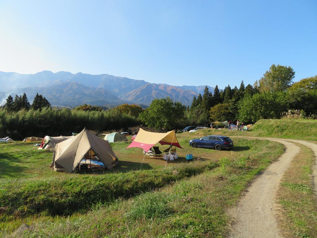キャンプ 場 いなか の 天気 風